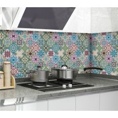 Kitchen Stickers Oil-proof Waterproof Vinyl Self-Adhesive Stove Cabinet Foil